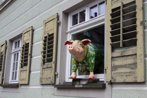 casa di legno dei 3 porcellini